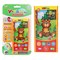 Kids Touch Learning Machine Early Education Machine Intelligence Learning English Toy Mobile Phone random 14.5*7.5*1.5cm