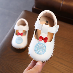 Girls Shoes Flower Kids Casual Sneakers Bowknot Baby Toddler Shoes Children Summer and fall sandals White 14