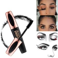 One Mascara New Long Curling Makeup Eyelash Black Waterproof Fiber Mascara Eye Lashes Moisturizer Black