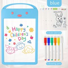 9 Inch LCD Writing Tablet Digital Drawing Tablet Handwriting Pads Portable Electronic Tablet Board blue 24.5cm*14.5cm
