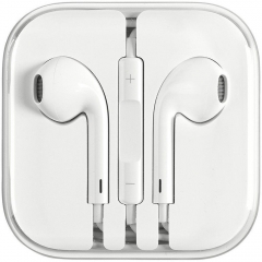 Earphones Headphone For Apple iPhone 6s 6 5c 5S 5SE 4s iPad iPod Handsfree white