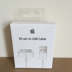 Genuine Boxed Apple iPhone 4S iPad 23 iPod 30-Pin to USB Data Charger Cable Lead normal normal