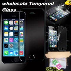 100% GENUINE TEMPERED GLASS SCREEN PROTECTOR PROTECTION APPLE iPHONE 8 7 6 5 SE 4 normal normal