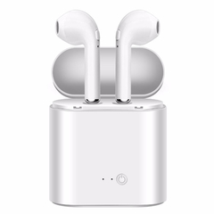 Bluetooth Wireless Earbuds Earphone Headsets TWS Earpiece Air Pods with Microphone for white one size