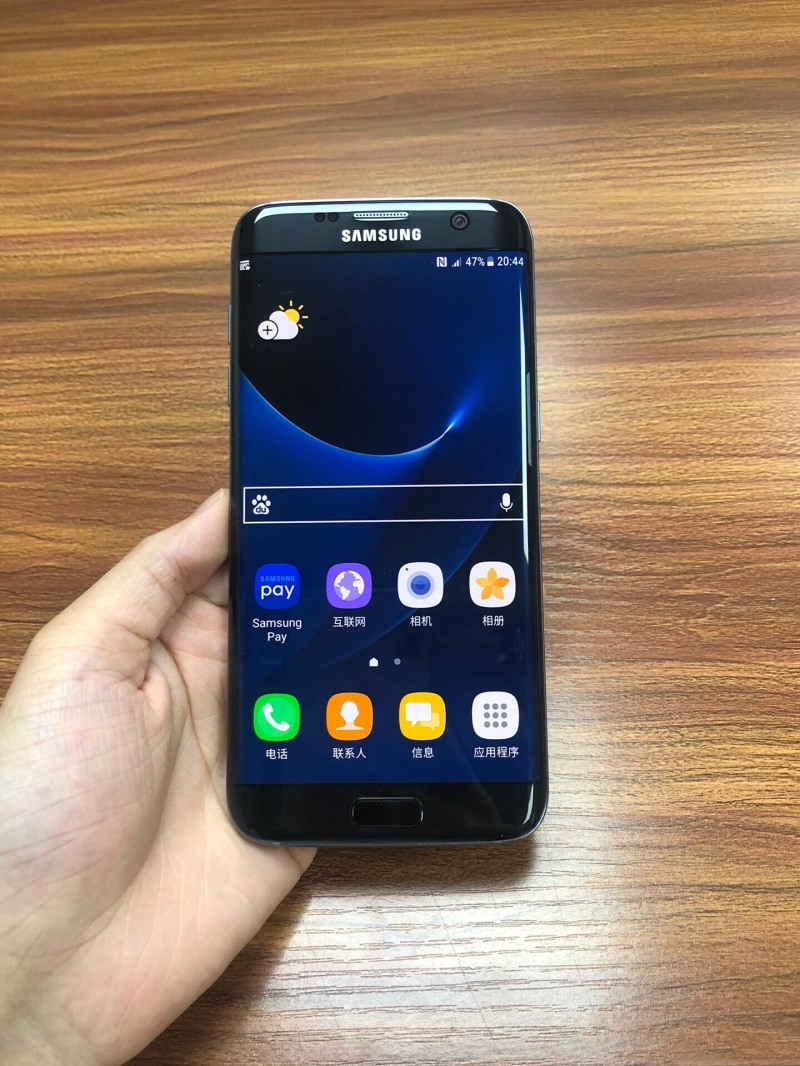 Samsung Galaxy S7 EDGE 12MP- 5.5Inch Curve screen +4GB RAM Certified product fingerprint  32gb gold 32gb 3