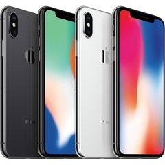 Apple IPhone X 5.8-Inch HD (3GB,64GB ROM) IOS 11, 12MP + 7MP 4G Smartphone - silver and black silver 64G no face id