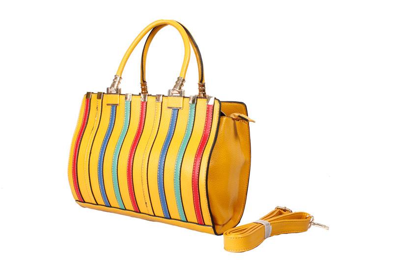 efc8fab27191 YELLOW LORIS JOVINO HAND BAG Yellow Muiticoloured  Product No  8952. Item  specifics  Brand