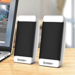Yizhi S4 desktop audio laptop audio multimedia subwoofer USB gift small speaker mini white
