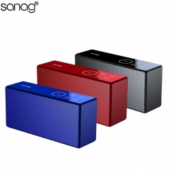 Wireless Bluetooth Speaker Touch Multifunction Computer Phone Small Speaker Bluetooth Speaker red one size