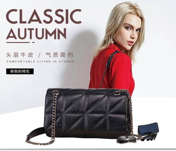 6b679f6f74d9 COMFUBE Genuine Leather Handbag Women s ladies Fashion Cowhide Shoulder bag  Black black handbag