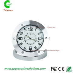 cctv table desk mini hidden spy camera clock digital dvr multi-function video recorder one color 8gb
