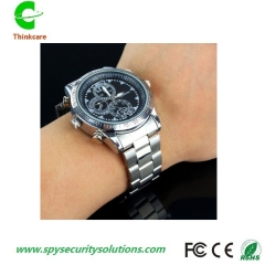 wrist hidden spy watch camera 1280*960P 8G video waterproof security mini nanny dv camdorder DVR one color 8gb