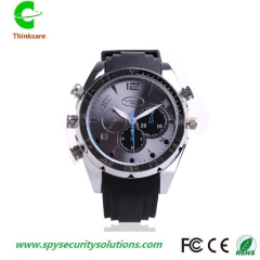 wrist hidden spy watch camera night vision full hd 1920*1080P waterproof mini nanny dv camdorder DVR one color 8gb