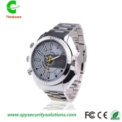wrist hidden spy watch camera night vision hd 1920*1080P waterproof mini dv camdorder DVR recorder one color 8gb