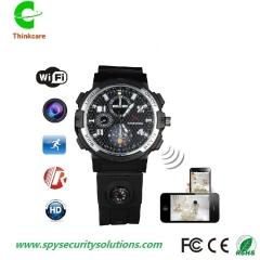smart hd 720P 8G wifi wireless wrist hidden spy watch camera waterproof mini dv camdorder DVR one color 8gb