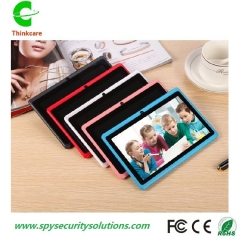 children kids tablet 7 inch android 1024*600 quad core tablet buletooth wifi 512MB+4G dual camera white
