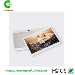 10.1 inch 3g phone calll tablet android quad core 1G+16G tablet pc3G dual sim laptop wifi gps fm tab silver