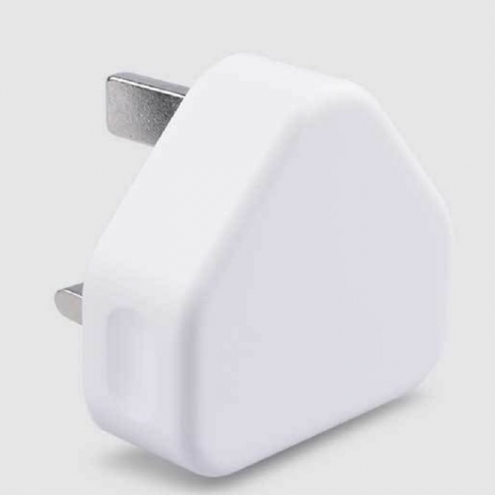 USB triangle charger 1A Gift white normal white one size