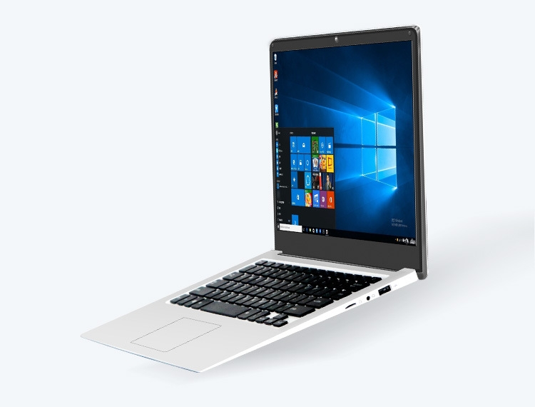 14.1 inch laptop 4G RAM+64G SSD 1080p Quad Core ultrathin  slim smart notebook computer win10 white 35.1cm*23.2cm*1.7cm 2