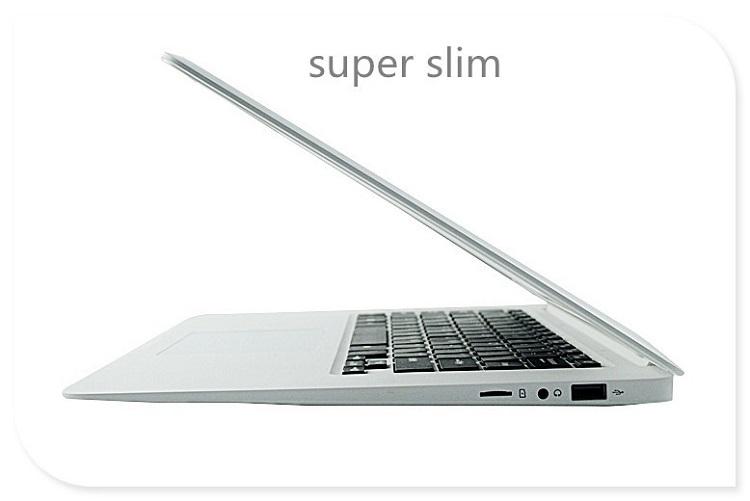 14.1 inch laptop 4G RAM+64G SSD 1080p Quad Core ultrathin  slim smart notebook computer win10 white 35.1cm*23.2cm*1.7cm 6