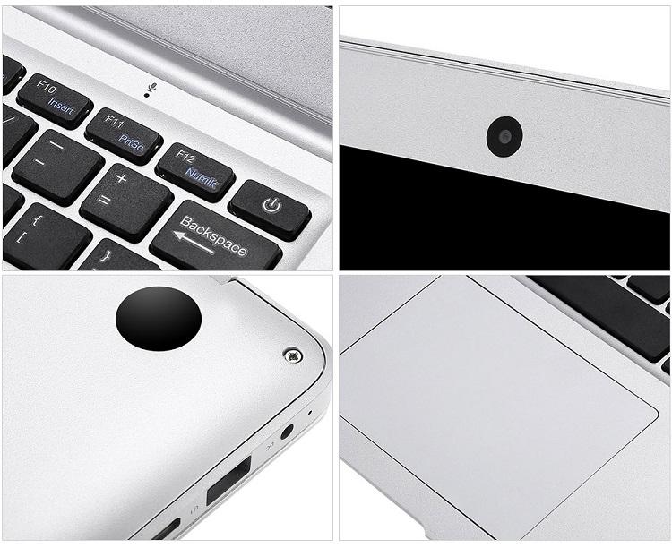 14.1 inch laptop 4G RAM+64G SSD 1080p Quad Core ultrathin  slim smart notebook computer win10 white 35.1cm*23.2cm*1.7cm 5