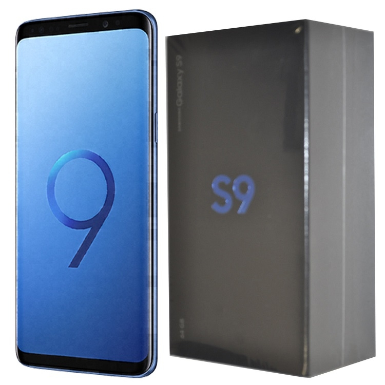 refurbished phone Samsung Galaxy S9 5.8 inch 1440x2960 4G RAM +64G ROM 12+8MP smartphone mobile black 3