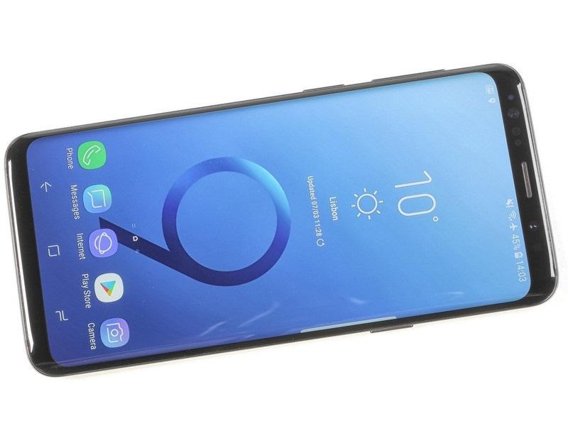 refurbished phone Samsung Galaxy S9 5.8 inch 1440x2960 4G RAM +64G ROM 12+8MP smartphone mobile black 7