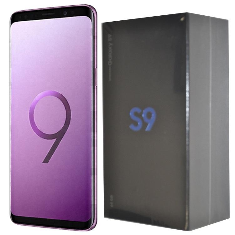 refurbished phone Samsung Galaxy S9 5.8 inch 1440x2960 4G RAM +64G ROM 12+8MP smartphone mobile black 4