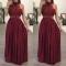 Hot Women Maxi Summer Long Evening Party Wear Dresses Beach Sundress Clothes Bride Mother Guest L Red