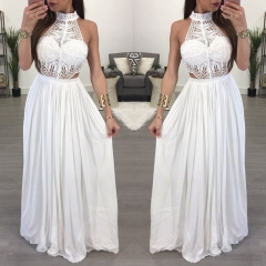 Hot Women Maxi Summer Long Evening Party Wear Dresses Beach Sundress Clothes Bride Mother Guest S White