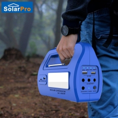 LED Portable DC Dynamo Emergency Solar Panel Headlamp Radio Reading Lamp Phone Charger Flashlight One Color One Size