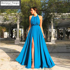 Party Dresses Women Long Backless Patchwork Slim Dresses for Amazon Hot Sale s plus size as shown