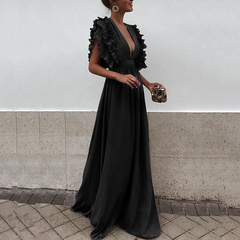 A Dresses for Mother of the Bride Bridesmaid Long Dress Design for Ladies in Kenya Nairobi Boutique s black