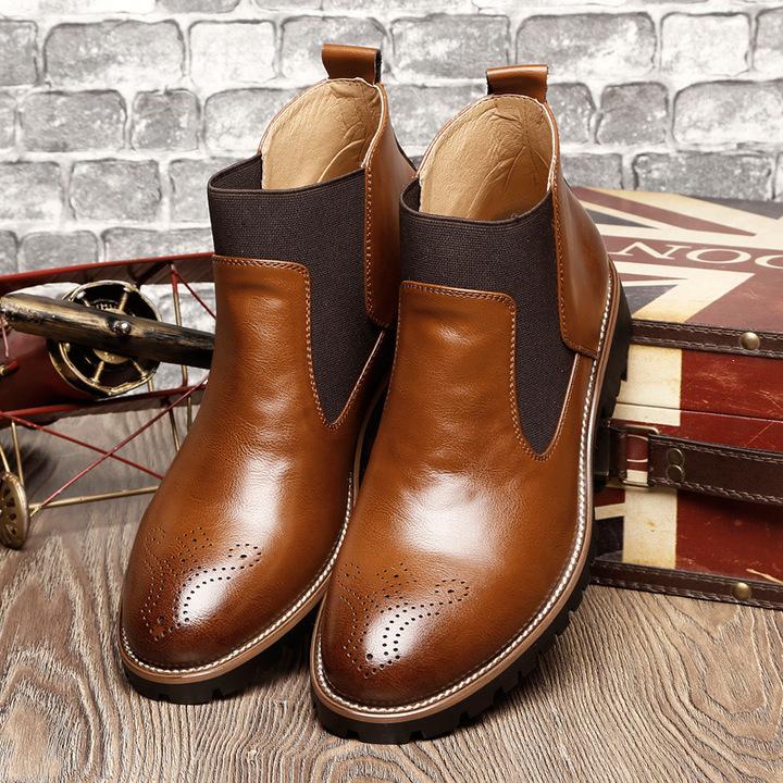 Men's Original Chelsea Dress Boot brown 39