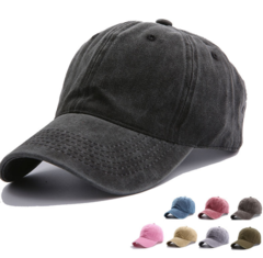 Fast Delivery Fashion Baseball Cap  Vintage  Dad Hat Men Women Washed Twill Cotton yellow vintage