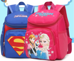 Cute Kid School Bags Backpack Children Girls Boys Schoolbag Cartoon Bag 21*26*12CM 1
