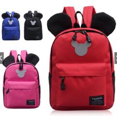 Cute Cartoon Kids Backpack School Bag blue