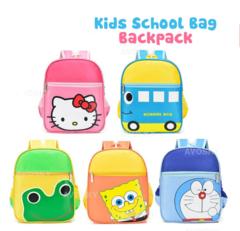 Cute Cartoon Character Kids School Bag Backpack Boys Girls hello kity