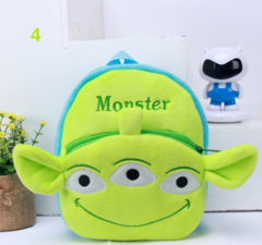 Baby schoolbag cute cartoon plush toy shoulder bag baby Mini-Bag 1