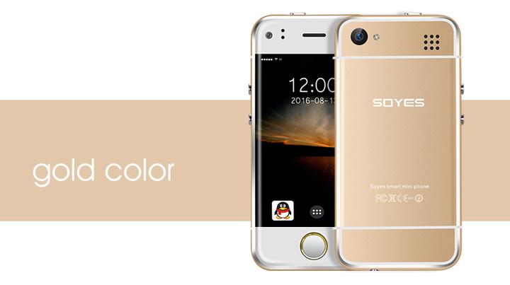 db74e35b66f Super Mini Android Smart Phone SOYES 6S MTK Quad Core 1GB+8GB 5.0MP Dual