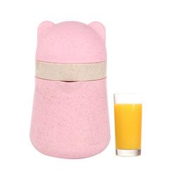 Cute environmentally friendly anti-fall manual portable mini juice cup random 16*10cm