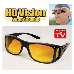 Fashion Optic Night Vision Driving Anti Glare HD Glasses Wind Protection Sunglasses for man or woman Yellow 15cm * 12.8cm * 5cm