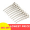 10pcs Hair Clips  Headwear Stainless Hairdressing Clips Clamp Salon Hairpins  DIY Hair Styling Tools as picture shows 9.0cm*0.8cm