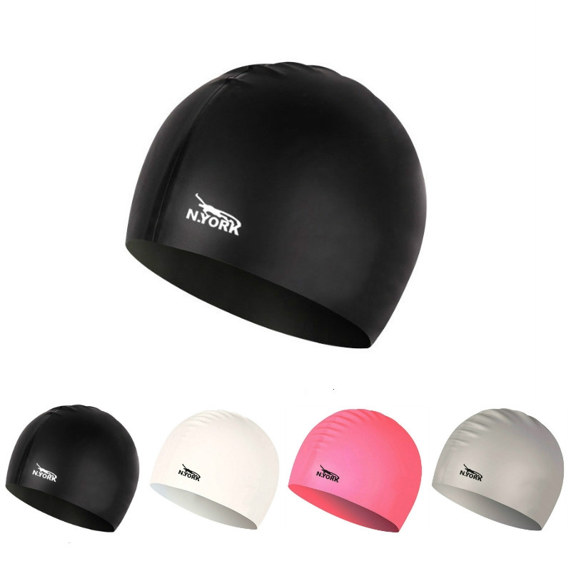 32088c87433bd3 Swimming Caps Silicon Waterproof Protect Ears Sports swimming pool ...