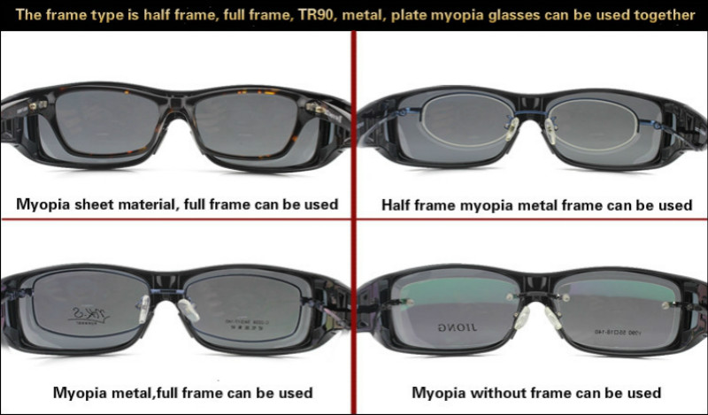 Fashion Optic Night Vision Driving Anti Glare HD Glasses Wind Protection Sunglasses for man or woman Black 15cm * 12.8cm * 5cm 15