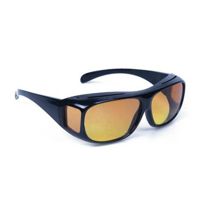 Fashion Optic Night Vision Driving Anti Glare HD Glasses Wind Protection Sunglasses for man or woman Black 15cm * 12.8cm * 5cm 18