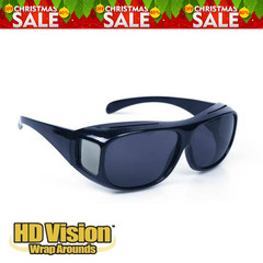 Fashion Optic Night Vision Driving Anti Glare HD Glasses Wind Protection Sunglasses for man or woman Black 15cm * 12.8cm * 5cm