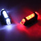 Bikes Bicycle light LED Taillight Rear Tail Safety Warning Cycling Portable Lights USB Rechargeable red