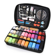 97Pcs/set Sewing tools Kit Accessories Travelling Quilting Stitching Embroidery Sewing Needle Craft black 97 Pcs/set