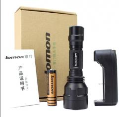 LED outdoors Tactical glare flashlight Waterproof charging flashlight flashlight Defense Military 14.6*4.4*4.4cm